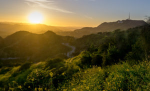 The Mt Hollywood Trail In Griffith Park Is One Of Best Places To Catch Sunset Over Los Angeles And Several Its Major Landmarks